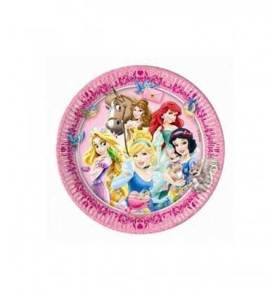 23 cm Geschirr 8 Disney Prinzessinnen 4110543B New Bama Party- Futurartshop.com