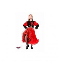 Karneval Kleid schneeweiß glitter  CMGR884987 Como Giochi -futurartshop