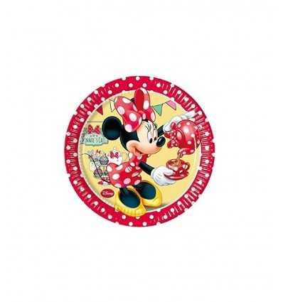 coated paper plates 8 minnie cafe ' 5022411A New Bama Party- Futurartshop.com