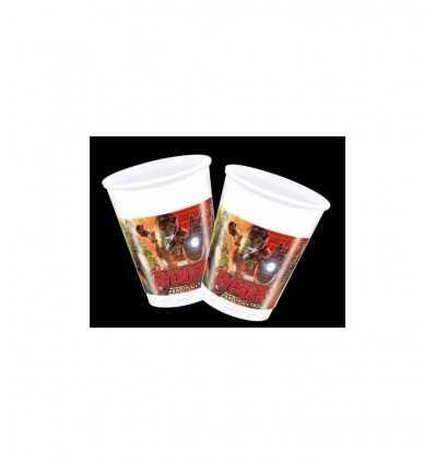 8 Plastikbecher Avengers Alter von ultron 5032457B New Bama Party- Futurartshop.com