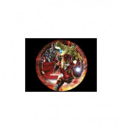 8 20 cm dishes avengers age of ultron 5032307A New Bama Party- Futurartshop.com