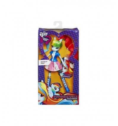Min lilla ponny Rainbow Dash Equestria Girls karaktär A3994E246/A8832 Hasbro- Futurartshop.com