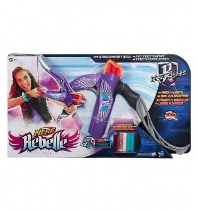 NERF Rebelle ストロング ハート ライラック アーチ 4 ダーツ B0862EU40/B0863 Hasbro- Futurartshop.com