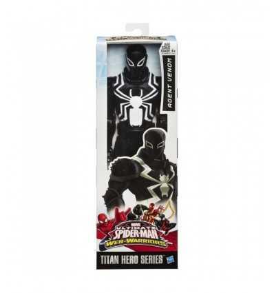 Ultimate Spider Man jad titan bohater charakter Agent B0747EU40/B1468 Hasbro- Futurartshop.com