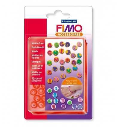 Fimo Schablonen Zahlen und Buchstaben ST872500 Staedtler- Futurartshop.com