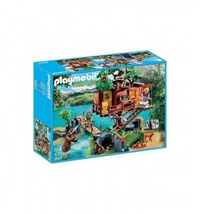 Casa sull'albero con ponte sospeso 5557 Playmobil-Futurartshop.com