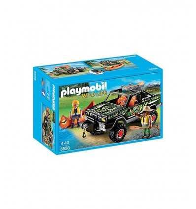 Pick-up z kajakarstwo i poszukiwaczy przygód 5558 Playmobil- Futurartshop.com