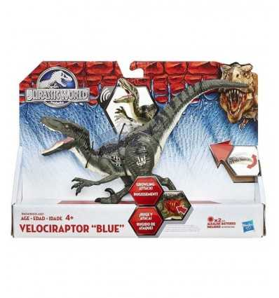 Jurassic World Velociraptor dinosaur Blue B1633EU40/B1634 Hasbro- Futurartshop.com