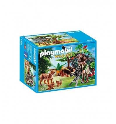 Cameramen with Lynx family 5561 Playmobil- Futurartshop.com