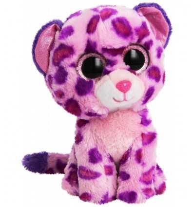 peluche leopardo rosa glamour 15 centimetri 36085 -Futurartshop.com