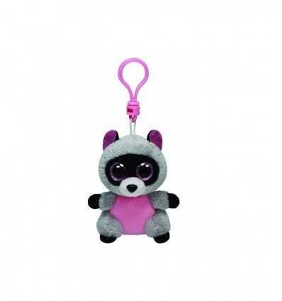 beanie boos rocco raccoon keychain 33007 - Futurartshop.com