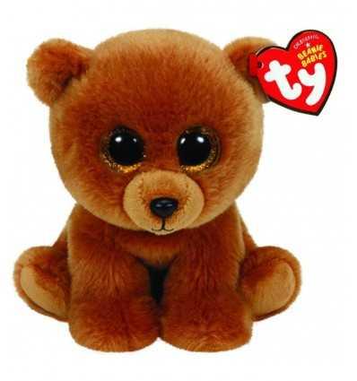 "Peluche beanie babies ours 15 cm \\""brownie\\"" 42109 - Futurartshop.com"