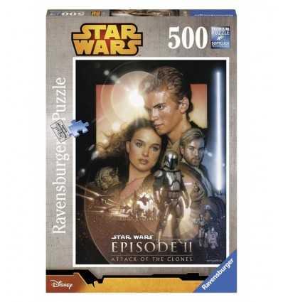 Puzzle Star Wars attack of the clones 500 pieces 14666 Ravensburger- Futurartshop.com