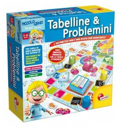 Маленький человек Тейт таблицы умножения и неприятностей 48885 Lisciani- Futurartshop.com