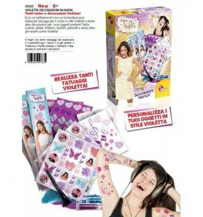 Фиолетовый моды украшения 47635 Lisciani- Futurartshop.com