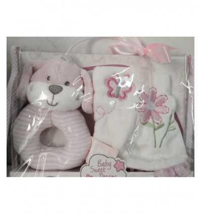 ピンク犬よだれかけをガラガラします。 PMX 8431/F-CAG Bontempi- Futurartshop.com