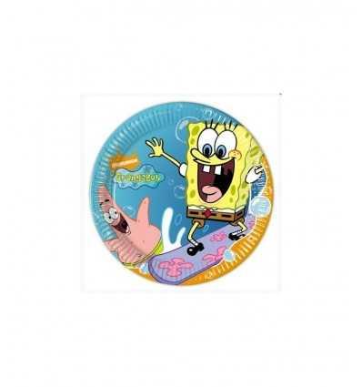 Bob esponja placas de 20 cm 10 CMG5127 Como Giochi - Futurartshop.com