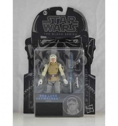 Personaje de Star Wars Luke Skywalker serie negra A5077E50G/A8056 Hasbro- Futurartshop.com