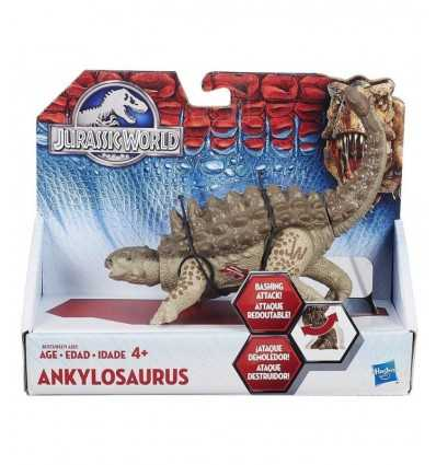 Dinosaure Jurassic World Ankylosaurus B1271EU40/B1273 Hasbro- Futurartshop.com