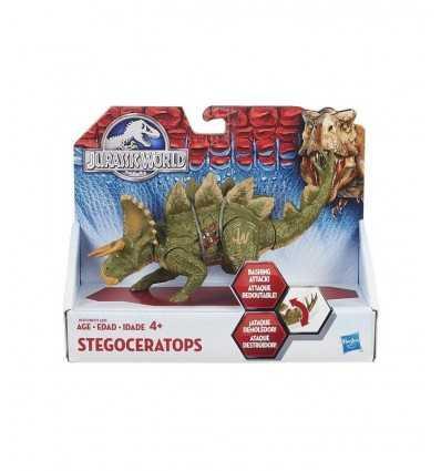 Jurassic dinosaur World Stegoceratops B1271EU40/B1272 Hasbro- Futurartshop.com