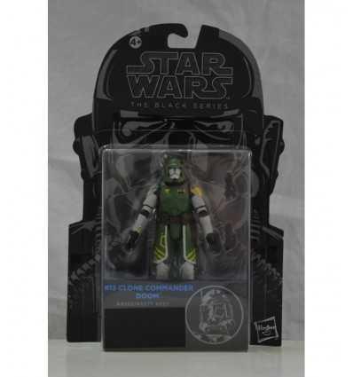 Star Wars Clone commander personaje negro serie doom A5077E50G/A9360 Hasbro- Futurartshop.com