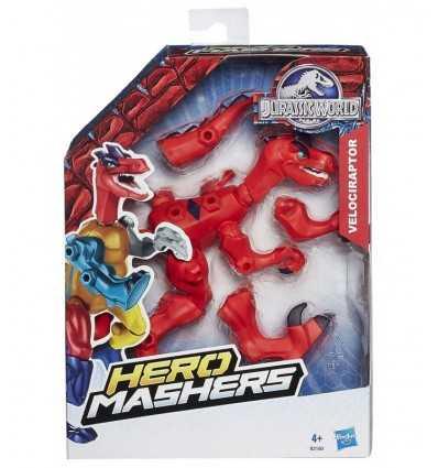 Jurajski świata bohater Mashers velociraptor B1196EU40/B2160 Hasbro- Futurartshop.com