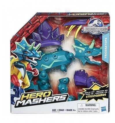 Юрский мир герой Mashers трицератопса B1197EU41//B2158 Hasbro- Futurartshop.com
