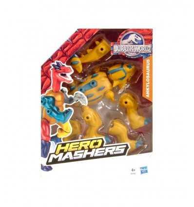 Jurassic World Hero Mashers Ankylosaurus B1196EU40/B2161 Hasbro-Futurartshop.com