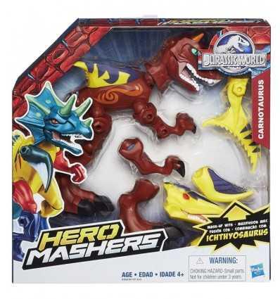 Jurassic världen hjälte Mashers Carnotaurus B1197EU41/B3264 Hasbro- Futurartshop.com
