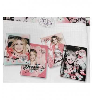 Violet Notebook a4 ligne 1r 87462 Giochi Preziosi- Futurartshop.com