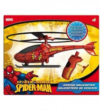 Spiderman por el lanzamiento de helicóptero 550605SP5 IMC Toys- Futurartshop.com