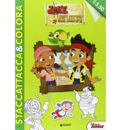 Jake and the Pirates of the island that is not there. With stickers 2219719 Panini- Futurartshop.com