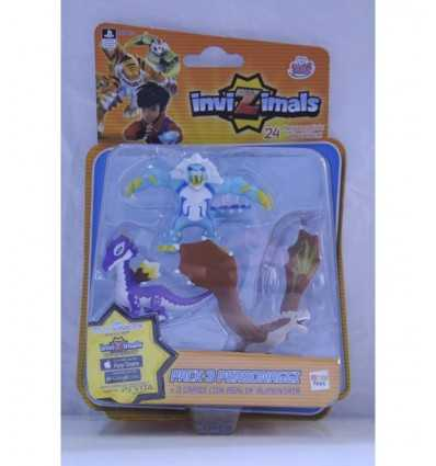 Invizimals blister avec 3 personnages Dragon Dragon Icelion Rock Star GG00166/ICEL Grandi giochi- Futurartshop.com