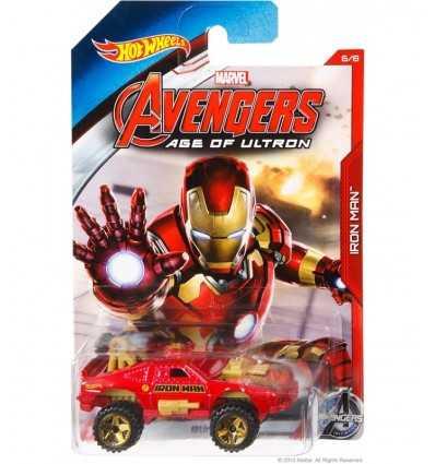 Hot Wheels auto karaktär Iron man CGB81/CGB87 Mattel- Futurartshop.com