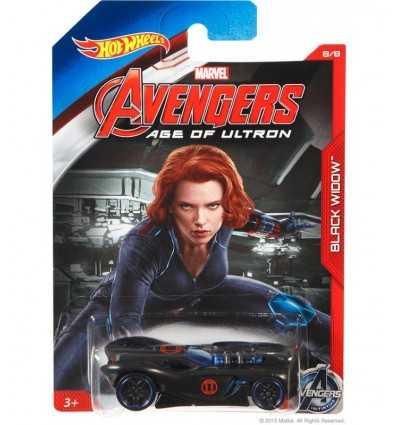 Hot Wheels auto character Black Widow CGB81/CGB89 Mattel- Futurartshop.com