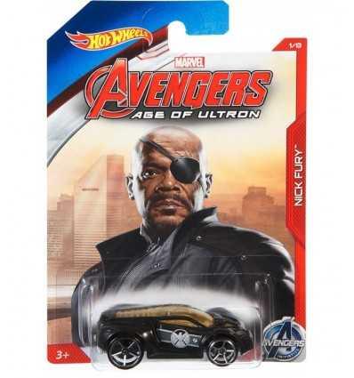 Hot Wheels auto caractère Nick Fury CGB81/CGB82 Mattel- Futurartshop.com