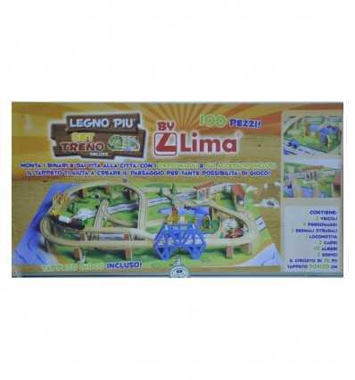 Wielki pociąg zestaw z walizką RDF00600 Lima- Futurartshop.com