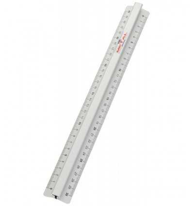 Medir la línea de triple metal 30 cm N53100 Fila- Futurartshop.com