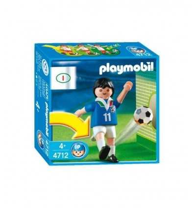 Playmobil Giocatore calcio Italia 4712 4712 Playmobil- Futurartshop.com