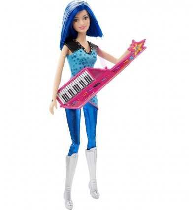 Barbie-Puppe mit Tastatur CKB60/CKB62 Mattel- Futurartshop.com