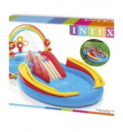 Piscinas inflables para niños del arco iris 57453 Intex- Futurartshop.com