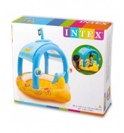 Capitán 107 x 102 x 99 cm bebé piscina 57426 Intex- Futurartshop.com