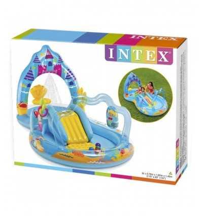 スイミング プール膨らませてプリンセス城 57139 Intex- Futurartshop.com