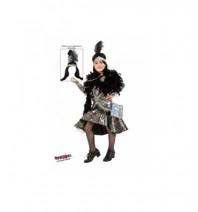 Costume carneval Lady cabaret 3607 Veneziano- Futurartshop.com