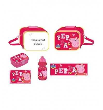 Peppa Pig rose petit déjeuner ensemble DK0480901 GDG Group- Futurartshop.com