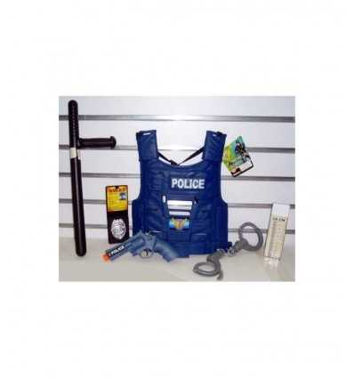 Corsage de police avec des armes et accessoires 397320 Grandi giochi- Futurartshop.com