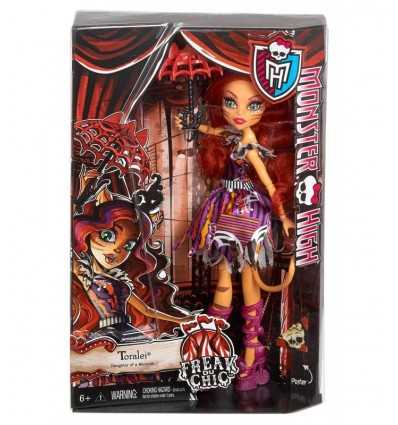 Monster hög doll du freak chic toralei CHY01/CHX99 Mattel- Futurartshop.com