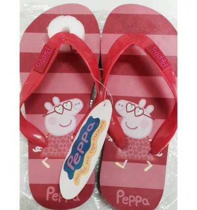 Peppa Pig rot Thong 29-30 MAZ0001924 Mazzeo- Futurartshop.com