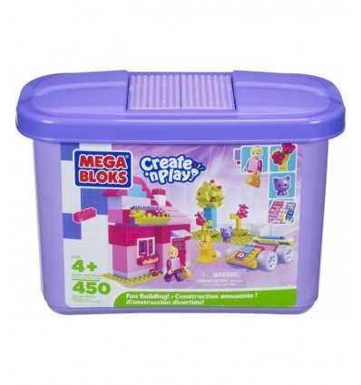 Balde de ladrillos de 450 piezas 02110 Mega Bloks- Futurartshop.com