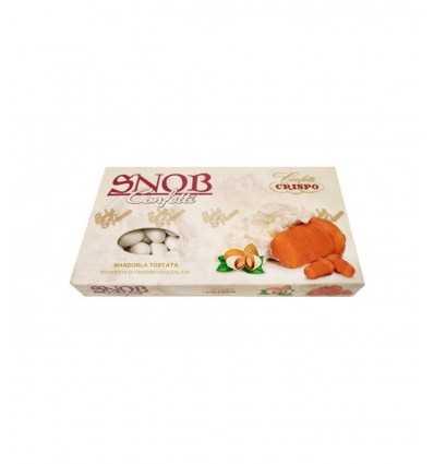 Zuckermandeln geröstete Mandel Creme Baba abgehakt Snob mit Milchschokolade 500 gr. 010137561 Confetti Crispo- Futurartshop.com